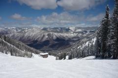 Blick nach Aspen