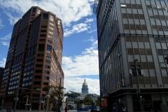 Blick auf das Kapitol