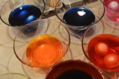 Eier färben Teil 2