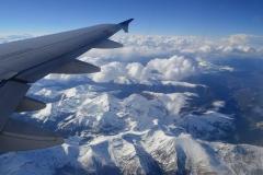 Blick auf die Rocky Mountains