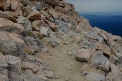 Die kleine Wanderung auf den Gipfel