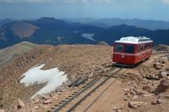 Pikes Peak Cog Railway höchster Zug der USA