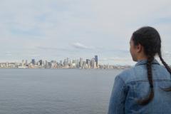 Blick auf Skyline